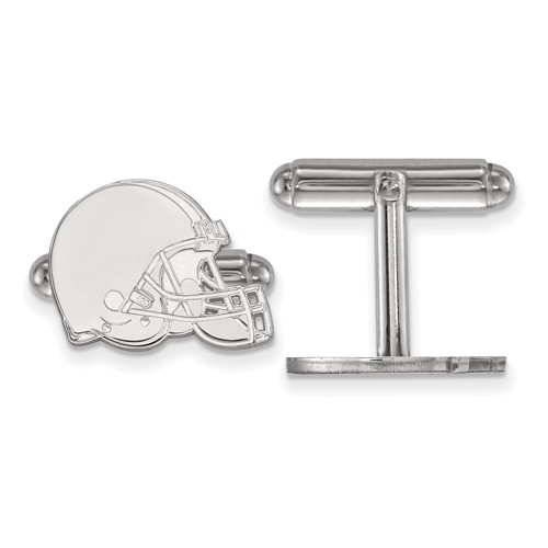 Cleveland Browns Cuff Links Sterling Silver