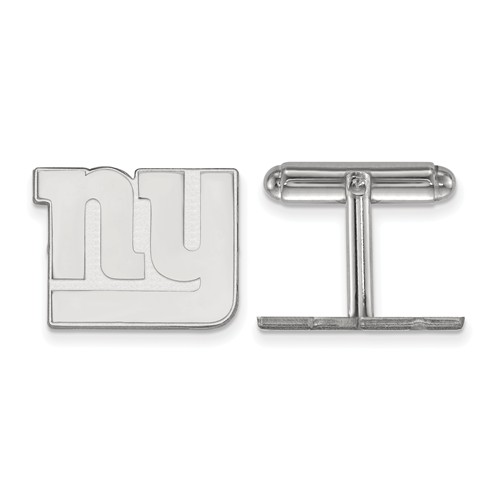 New York Giants Cuff Links Sterling Silver