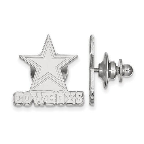 Sterling Silver Dallas Cowboys Lapel Pin
