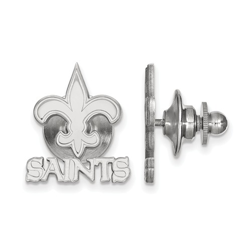 Sterling Silver New Orleans Saints Lapel Pin