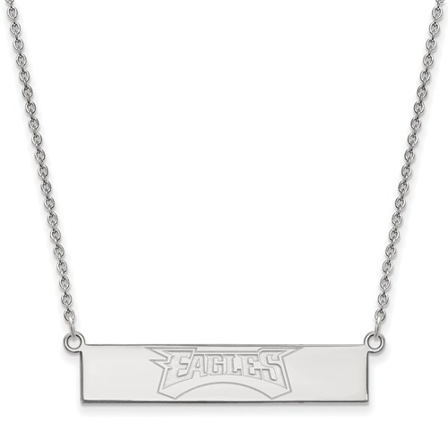 Sterling Silver Philadelphia Eagles Bar Necklace