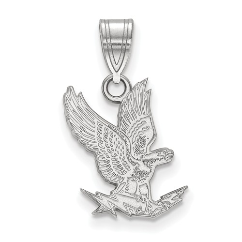 United States Air Force Academy Falcon Pendant 5/8in 10k White Gold