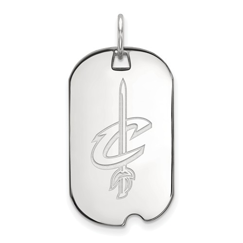 Sterling Silver Cleveland Cavaliers Dog Tag