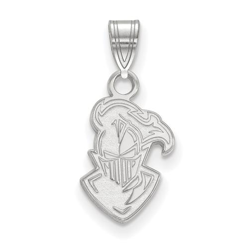 Sterling Silver 1/2in Furman University Paladin Head Pendant