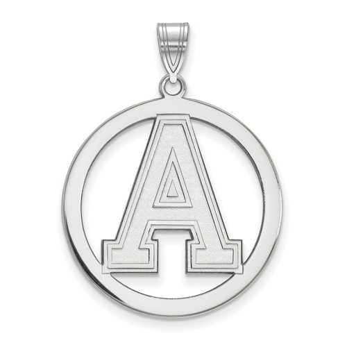 United States Military Academy Circle Pendant 1in Sterling Silver