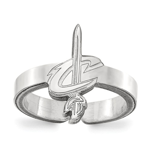 Sterling Silver Cleveland Cavaliers Toe Ring