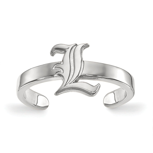 Sterling Silver University of Louisville Toe Ring
