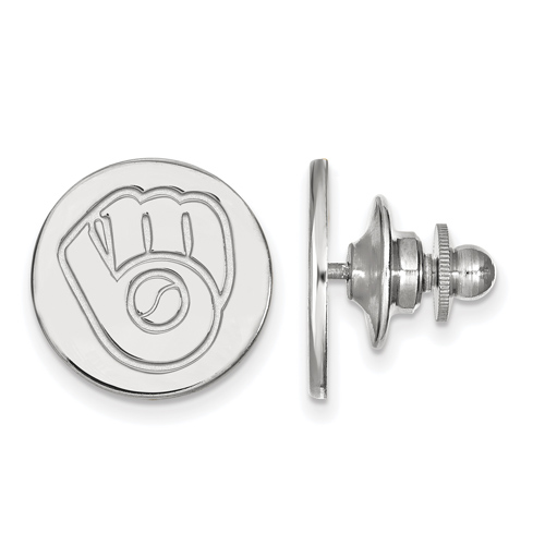 Sterling Silver Milwaukee Brewers Lapel Pin
