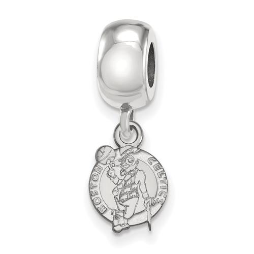 Sterling Silver Boston Celtics Small Dangle Bead
