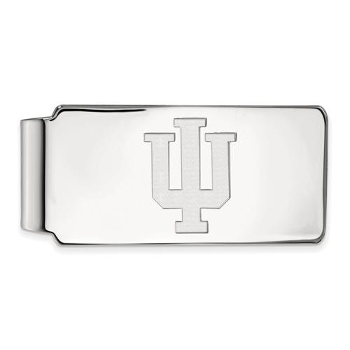 Sterling Silver Indiana University Money Clip