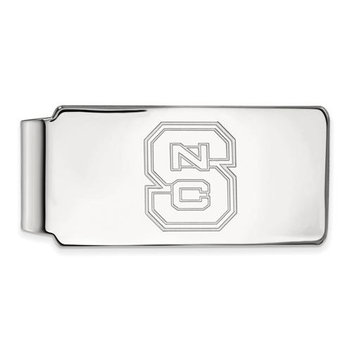 Sterling Silver North Carolina State University Money Clip