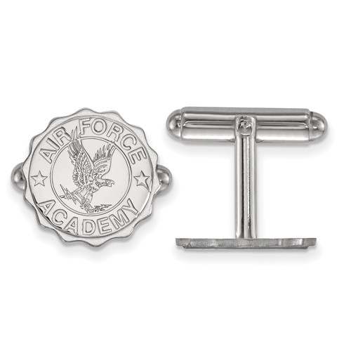 Sterling Silver United States Air Force Academy Cuff Links
