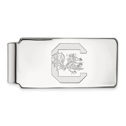 Sterling Silver University of South Carolina Money Clip