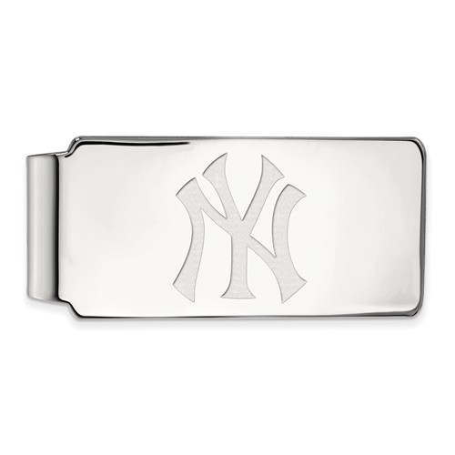 Sterling Silver New York Yankees Money Clip