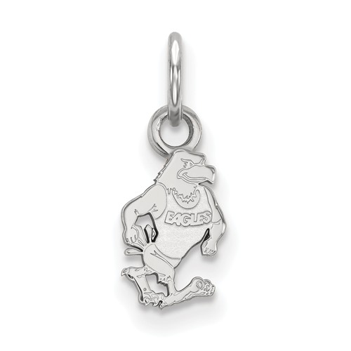 14k White Gold Georgia Southern University GUS Charm 3/8in