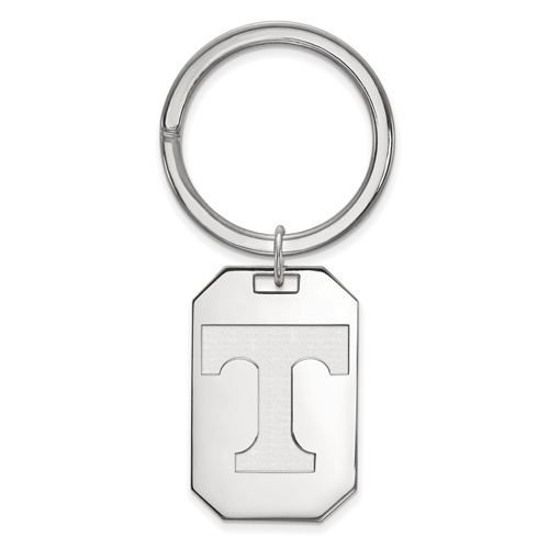 Sterling Silver University of Tennessee Key Chain