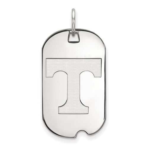 Sterling Silver University of Tennessee Small Dog Tag