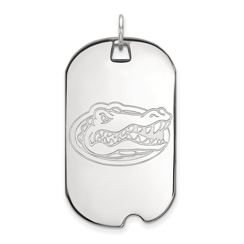 Sterling Silver University of Florida Dog Tag