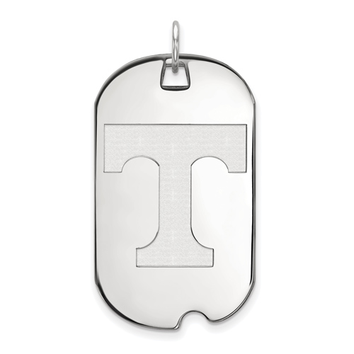 Sterling Silver University of Tennessee Dog Tag