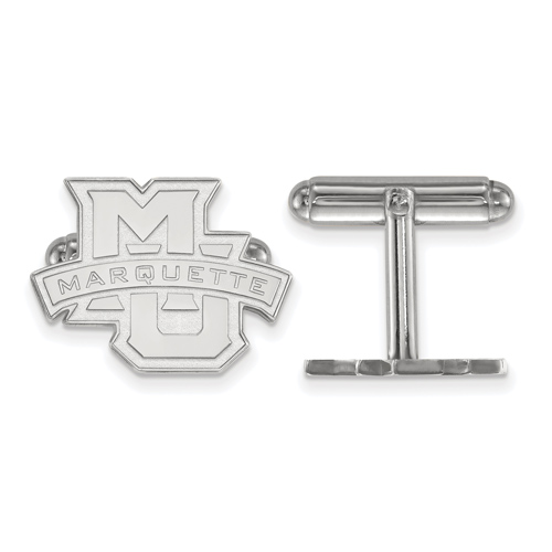 Marquette University Cuff Links Sterling Silver