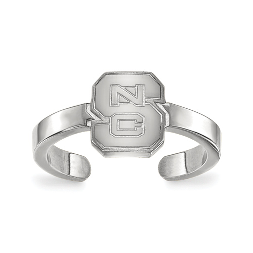 Sterling Silver North Carolina State University Toe Ring