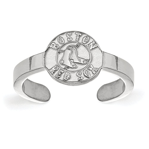 Sterling Silver Boston Red Sox Toe Ring
