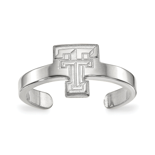 Sterling Silver Texas Tech University Toe Ring
