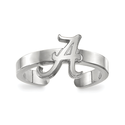 Sterling Silver University of Alabama Toe Ring
