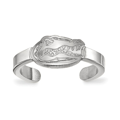 Sterling Silver University of Florida Toe Ring