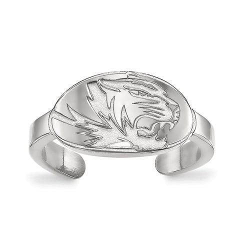 Sterling Silver University of Missouri Toe Ring