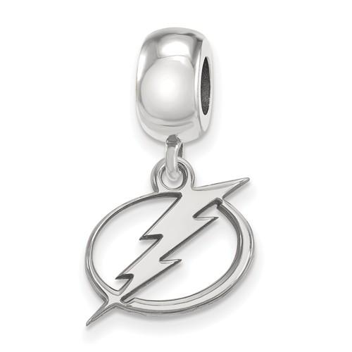 Sterling Silver Tampa Bay Lightning Dangle Bead