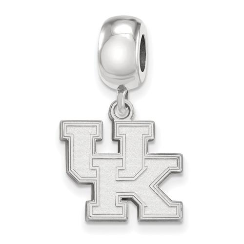 Sterling Silver University of Kentucky UK Small Dangle Bead