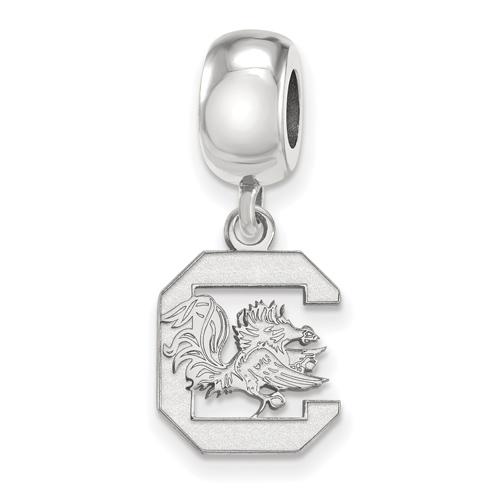 Sterling Silver University of South Carolina Dangle Bead Charm