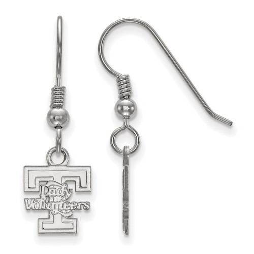 Sterling Silver Lady Volunteers Extra Small Dangle Earrings