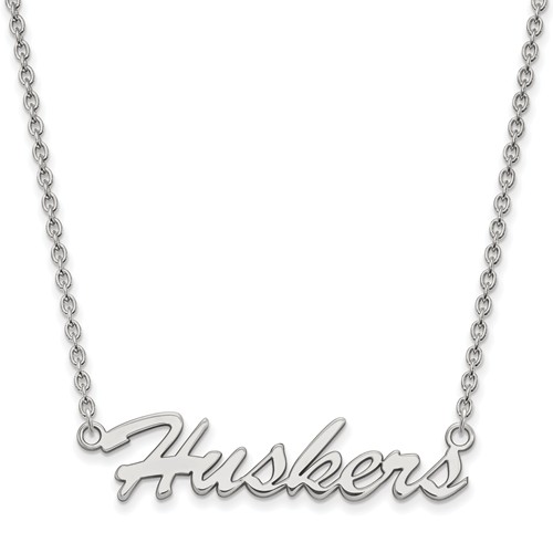 Sterling Silver Huskers Pendant with 18in Chain