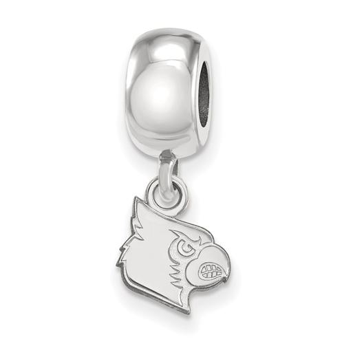 University of Louisville Cardinal Dangle Bead XS Sterling Silver