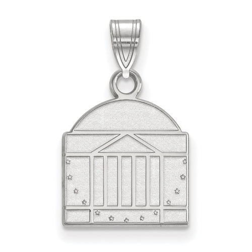 Sterling Silver 1/2in University of Virginia Rotunda Pendant