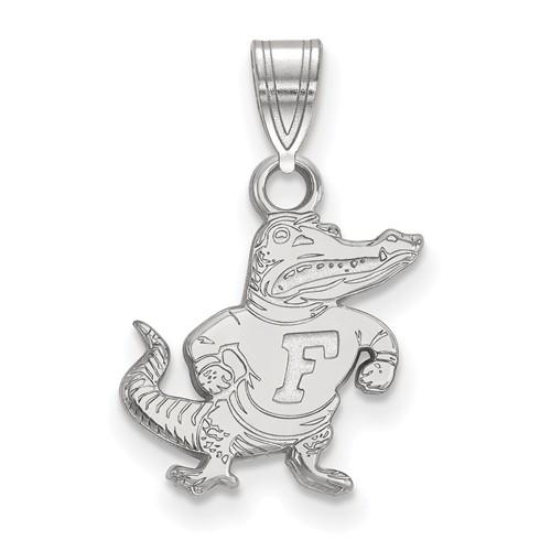 Sterling Silver 1/2in University of Florida Albert Pendant