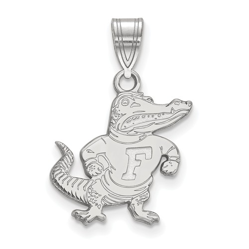 Sterling Silver 5/8in University of Florida Albert Pendant