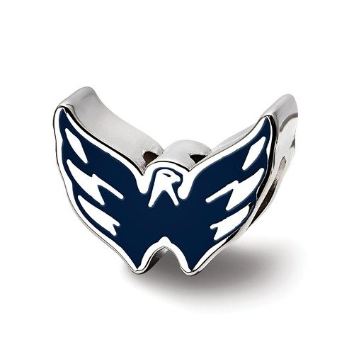 Sterling Silver Washington Capitals Bead