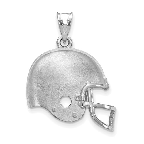 Cleveland Browns Football Helmet Pendant Sterling Silver