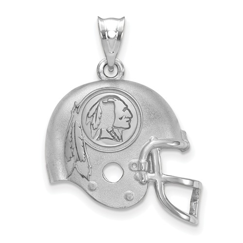 Washington Redskins Football Helmet Pendant Sterling Silver