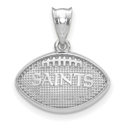 New Orleans Saints Football Pendant Sterling Silver