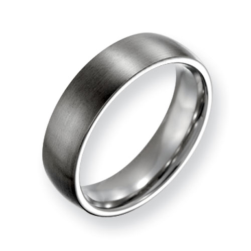 Titanium 6mm Brushed Wedding Band
