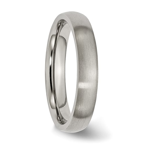 Titanium 4mm Brushed Wedding Band