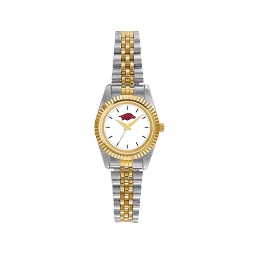 University of Arkansas Ladies' Pro Two-tone Stainless Steel Watch