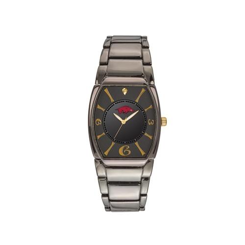 University of Arkansas Executive Black-plated Watch