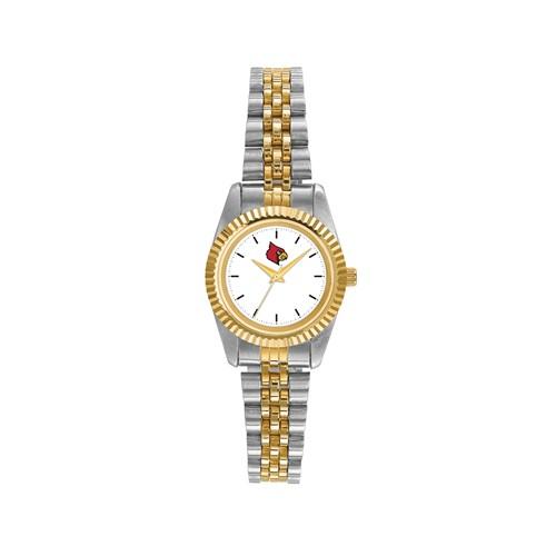 University of Louisville Ladies' Pro Two-tone Stainless Steel Watch