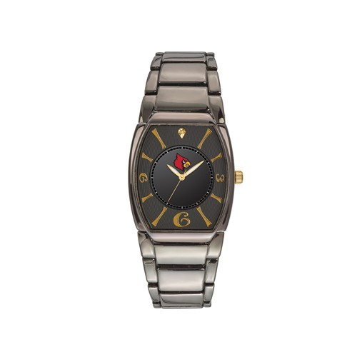 University of Louisville Executive Black-plated Watch