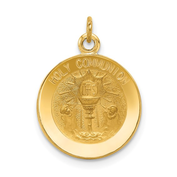 14kt 9/16in Holy Communion Charm